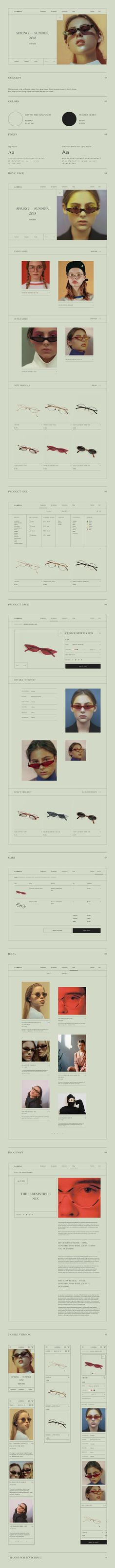 Lambda: Glasses Store (Concept) on Behance