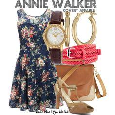 annie walker covert affairs fashion | Inspired by Piper Perabo as Annie Walker on Covert Affairs.