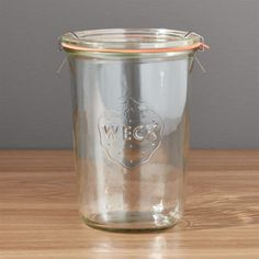 Shop Weck 26 oz.  Canning Jar.  With the rise in home canning and preserving, it's only natural we'd revisit these German classics—keeping it fresh since 1900.