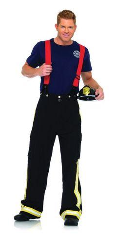 Fireman Costume Adult.