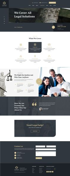 Buy Lawges - Lawyer and Law Firm PSD Template by ir-tech on ThemeForest. Lawges- Lawyer and Law Firm PSD Template is best suitable for law,law firm ,barrister, attorney and legal. Lawyer Website, Law Firm Website, Template Site, Psd Templates, Law Web, Employer Identification Number, Webdesign Inspiration, Websites For Students, Recruitment Agencies