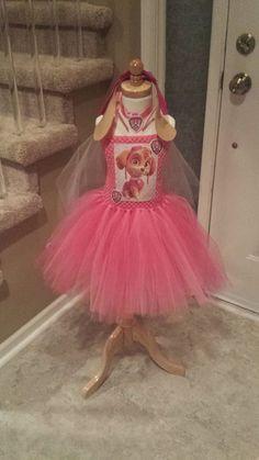 Paw Patrol tutu costume, Skye tutu costume, pink tutu, Paw pawtrol tutu and… Paw Patrol Dress Up, Skye Paw Patrol Costume, Skye Costume, Paw Patrol Party, Paw Patrol Birthday, Purim Costumes, Tutu Costumes, Halloween Costumes, Costume Ideas