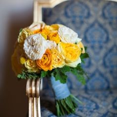 A fun summer wedding in downtown Los Angeles at the Oviatt Penthouse full of cheery yellows.