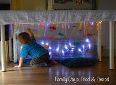 """Under Table"" Ocean (from Family Days Tried and Tested's Blog)"