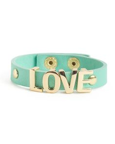 Mint Love Bracelet