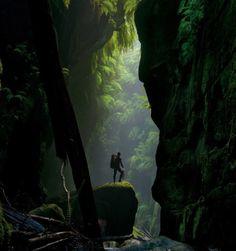Claustral Canyon, Australia