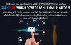 This is the reason why @BSNLKERALA refers @xgenplus as Next Generation Email platform.