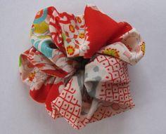 Scrunchie  kimono fabric by makikomo on Etsy, $8.00