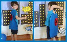 Superhero Birthday Party Centerpieces & Photo Opp Signs (FREE Printables) | Jolly Mom: Recipes | Crafts | Atlanta Mom Blogger | Brand Ambassador | Product Reviews