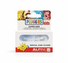 Alpine Pluggies Kids Swim/drumming Earplugs