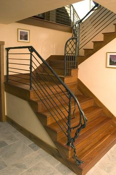 wrought iron stair railing - Google Search