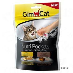 Animalerie  GimCat Nutri Pockets pour chat  assortiment Malt-Vitamin-Mix (3 x 150 g)