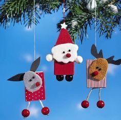 Елочная игрушка своими руками «Дед Мороз»