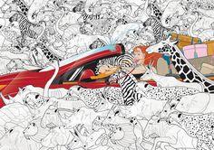 works 02 by lee yong kyu, via Behance
