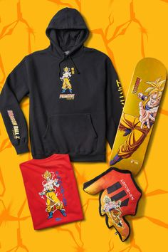 Dragon Ball Z x Primitive Skateboarding official collaboration t-shirts casual t-shirts With Sayings t-shirts Plain t-shirts design t-shirts street