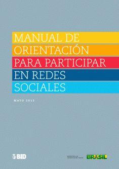 """""""Manual de Orientación para Participar en Redes Sociales"""" free #ebook"""
