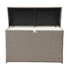 69 best patio storage box images outdoor storage boxes bench with rh pinterest com Black Wicker Patio Furniture Rattan Outdoor Patio Furniture