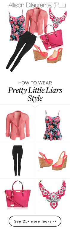 """""""Alison Dilaurentis style (Pretty Little Liars)"""" by lilxmaya on Polyvore"""