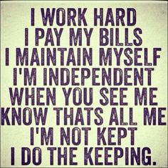 Women remember to keep yourself- work hard and enjoy your success