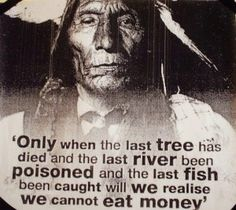 I couldn't have said it better - The environment will save us, if we decide to save it.