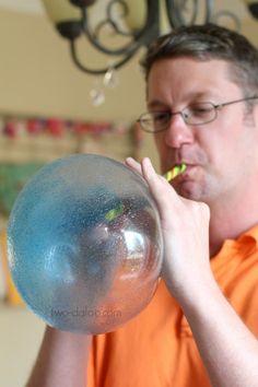 Play Recipe: Giant Reusable Bubbles - Twodaloo
