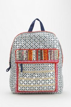 Ecote Mirrored Backpack #urbanoutfitters