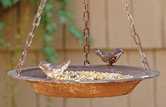 Hanging Bird Feeder | Bird Bowl