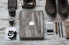Buy Now Elegant Dark Varnished Wood Vinyl Skin Decal for Apple Macbook Air & Mac Pro Retina, New Macbook , Toshiba HP Dell Asus Acer Samsung by Cliqueshops. Macbook Skin, New Macbook, Macbook Case, Air Mac, Mac Decals, Things I Need To Buy, Newest Macbook Pro, Tech Toys, Wood Vinyl