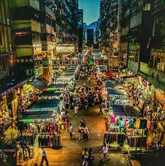 Temple Street Night Market 廟街夜市場 in 油麻地 Best Photography Logo, Night Photography, Street Photography, Food Photography, Hong Kong Night, British Hong Kong, Hongkong, Tokyo Streets, Buddhist Temple