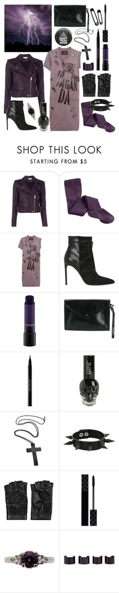 """you're my religion"" by nothingisnormal ❤ liked on Polyvore featuring IRO, Vivienne Westwood Anglomania, Yves Saint Laurent, MAC Cosmetics, Hermès, Urban Decay, Forever 21, Valentino, Gucci and Maison Margiela"