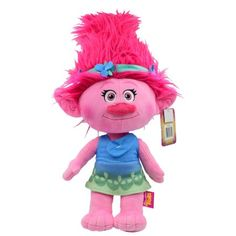 """Free 2-day shipping on qualified orders over $35. Buy Dreamwork's Trolls """"Poppy"""" Cuddle Pillow at Walmart.com"""