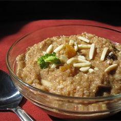 """Mediterranean Breakfast Quinoa   """"This recipe really made me love quinoa! The cinnamon so good when you're making it. Really cheap, easy, lowfat, and healthy. I used almond milk instead of cow milk."""""""
