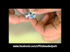 Briolette Flower Beaded Ring & Pendant Tutorial beadifulnights beadifulnights