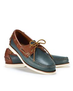 64820cd2a37 Two-Toned Telford Boat Shoe - Polo Ralph Lauren Casual - RalphLauren.com  Boat