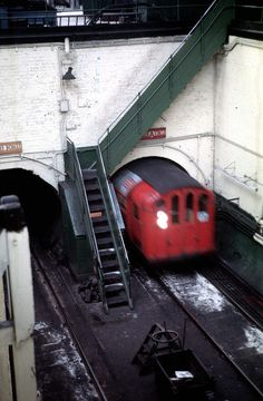 Glasgow Subway Broomloan Road Car Sheds Pit by degahk, via Flickr