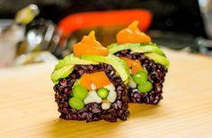 #vegan #sushi #flexiblevegan