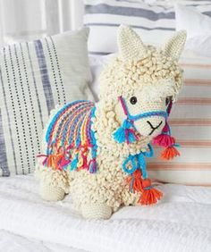 Crochet Dolls, Crochet Baby, Free Crochet, Knit Crochet, Crochet Food, Knitted Dolls, Crochet Stitches, Stuffed Animals, Llama Stuffed Animal