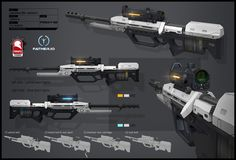 father.io precision rifle, Kris Thaler on ArtStation at https://www.artstation.com/artwork/1wyvG