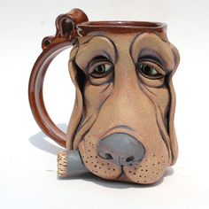 SADDOG one of a kind FACE MUG