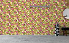 Wallpaper room eco happy