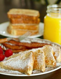 No limp and soggy french toast with this recipe! It's like your favorite diner's french toast. Dip the bread into a pancake-like batter - perfection!