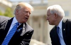 """Trump Intensifkan Serangan Terhadap Jaksa Agung Jeff Sessions : Presiden Amerika Serikat Donald Trump secara terbuka telah menyerang Jaksa Agung Jeff Sessions lagi dengan menuduhnya mengambil """"posisi yang sangat lemah"""" atas tuduhan"""