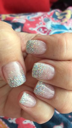 Over any color #GlitterNails