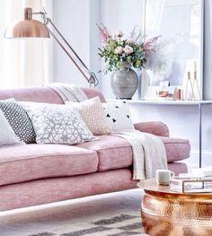 Design, colors, sofa, pink