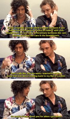 once i read the last part i broke down laughing. oml of course Matty