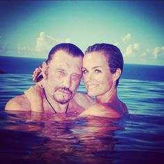 @Laeticia Hallyday et Johnny <3