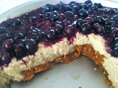 Paleo Blueberry Cheesecake « Cavemen Gourmet