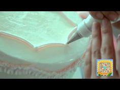 peony honey butter cream flowercake