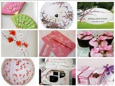 cherry blossom themed party fun and  cute !