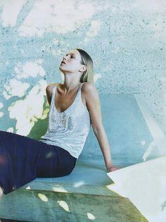 Kate Moss by Patrick Demarchelier for Harper's Bazaar, 1997